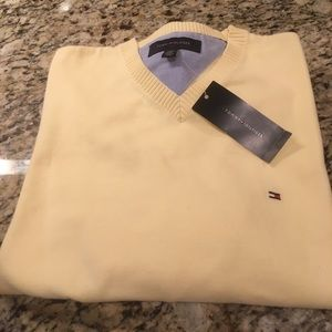 Tommy Hilfiger Yellow Sweater